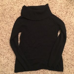 Black loft sweater size medium